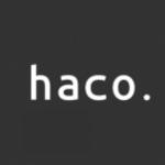 株式会社haco.のロゴ