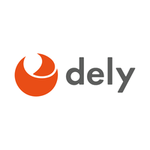 dely株式会社のロゴ